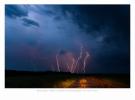 Onweer in de Noord Oost Polder